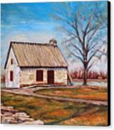 Ile Perrot House Canvas Print