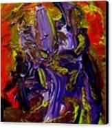 Ill Iris Canvas Print