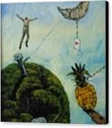 Illusions That Fall At Dawn Canvas Print by Carlos Rodriguez Yorde
