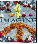 Imagine Peace Canvas Print by Sharla Gentile