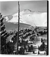 Imperial Bowl And Peak 8 At Breckenridge Resort Colorado Canvas Print by Brendan Reals