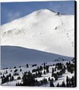 Imperial Bowl On Peak 8 At Breckenridge Colorado Canvas Print
