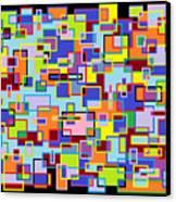 Improv 102 Canvas Print by Cynthia Friedlob