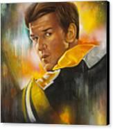 In A League Of His Own Canvas Print by Gary McLaughlin