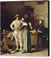 In Hoc Signo Vinces Canvas Print