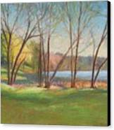 In Just Spring At Plug Canvas Print