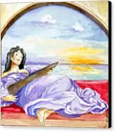 In Paradisum Canvas Print