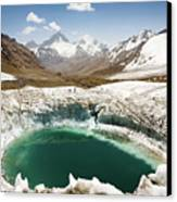 In The Depth Of Pamir Canvas Print