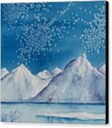 In The Far North Canvas Print