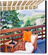In The Shade Canvas Print by Denise H Cooperman