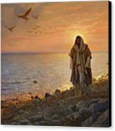 In The World Not Of The World Canvas Print by Greg Olsen