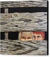 In Trouble Canvas Print by Bob Hallmark