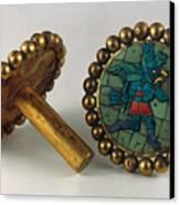 Inca Earrings Canvas Print by Granger