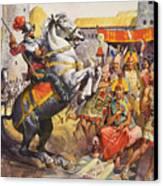 Incas Canvas Print by James Edwin McConnell