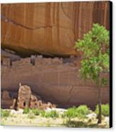 Indian Cliff Dwellings Canvas Print by Thom Gourley/Flatbread Images, LLC