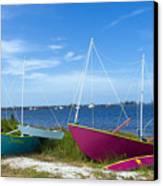 Indian River Lagoon On The Easr Coast Of Florida Canvas Print