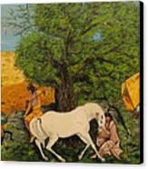 Indian Romance Canvas Print