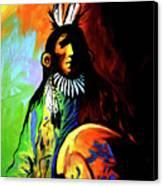 Indian Shadows Canvas Print by Lance Headlee