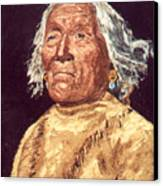 Indian Warrior Canvas Print