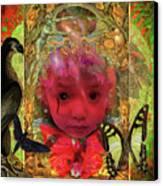 Indigo Child Canvas Print