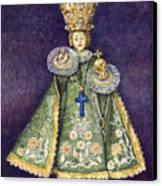 Infant Jesus Of Prague Canvas Print by Yuriy  Shevchuk