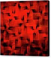 Inferno Canvas Print by Silvia Ganora