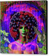 Influenza She Has Gone Viral Canvas Print
