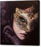 Ingredient Of Mystery  Canvas Print by Dorina  Costras