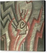 Inner Turmoil  Detail Canvas Print