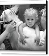 Innocence And Love Canvas Print