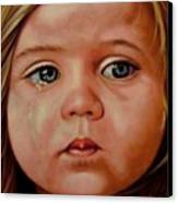 Innocence Canvas Print by Saba Aghajan
