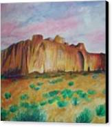 Inscription Rock  Canvas Print