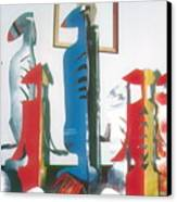 Installation Views-1984 Canvas Print