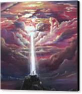 Intercession Through Worship Canvas Print