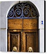 Interesting Door Canvas Print