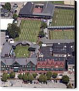 International Tennis Hall Of Fame 194 Bellevue Ave Newport Ri 02840 3586 Canvas Print by Duncan Pearson
