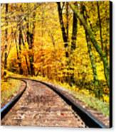 Into The Forest Canvas Print by Kathy Jennings
