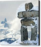 Inukchuk Whistler Canvas Print by Pierre Leclerc Photography