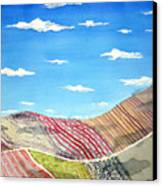 Iowa Fields  Iowa Clouds Canvas Print by Jame Hayes