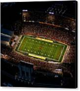Iowa State Jack Trice Stadium Aerial  Canvas Print by Iowa State