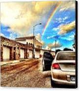 #iphone # Rainbow Canvas Print