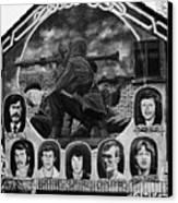Ira Wall Mural Belfast Canvas Print