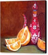 Iranian Lemons Canvas Print