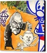 Iraq Quagmyers Detail Canvas Print