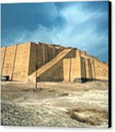 Iraq: Ziggurat In Ur Canvas Print by Granger