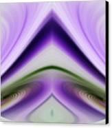 Iris Abstract Canvas Print by Linda Phelps