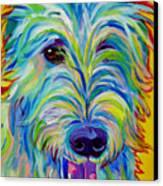 Irish Wolfhound - Angus Canvas Print by Alicia VanNoy Call