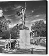 Iron Mke Statue - Parris Island Canvas Print by Scott Hansen