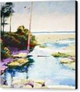 Iron Springs Canvas Print
