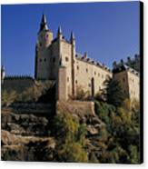 Isabella's Castle In Segovia Canvas Print